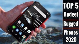 Top 5 Best Budget Rugged Smartphones 2020 - Cheap IP68/ Military Grade Phones