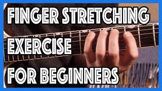 Amazing Finger Stretching Exercise For Beginners | Justin Guitar Beginner Lesson Tutorial [B1-401]