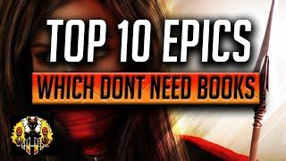 RAID: Shadow Legends | Top 10 EPICS which DO NOT NEED BOOKS!!