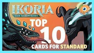 Top 10 Ikoria Cards for Standard