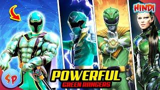 Top 10 Most Powerful Green Rangers   Explained in Hindi