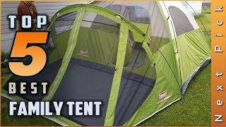 Top 5 Best Family Tent Review in 2020