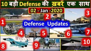 Top 10 | Top Defense Updates | Tejas Engine, AMCA, Su-57,  Mig-35, DRDO, Mig-27,brahmos, f414, f404