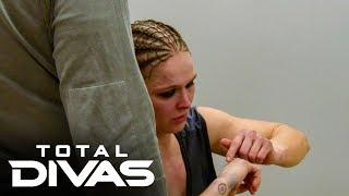 Ronda Rousey realizes she broke her hand at WrestleMania: Total Divas, Dec. 3, 2019