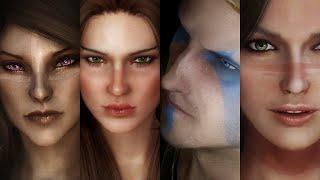 Skyrim - Top 10 Best Mods for Beautiful Characters | 2021 Edition (PC, XBOX)