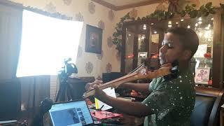 """""""You Say"""" - Lauren Daigle (#violin practice) Tyler Butler-Figueroa 12 #Worship #Gospel #YouSay #AGT"""