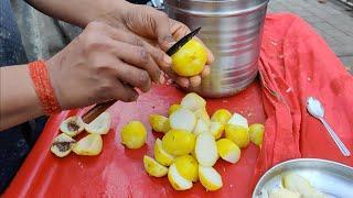 Aloo Handi Chaat   Unusual Street Food of Mumbai   Indian Street Food
