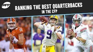 Best Quarterbacks in the CFP | PFF