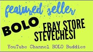 14 BOLO items Feature Seller ebay store stevechesi Reseller opportunity at the end of the video