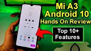 Mi A3 Android 10 Top 10+ New Hidden Features | Mi A3 Stable Android 10 Update