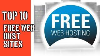 Free Web Hosting service Sites -Top 10