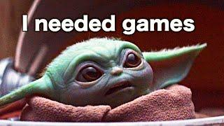Baby Yoda still being ADORABLE with subtitles