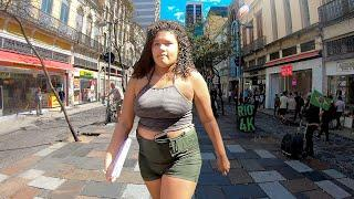 RIO DE JANEIRO Downtown, Walking Tour Rio City Center — BRAZIL Walk (Narrated)【4K】
