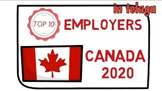 Top 10 jobs in canada in telugu ! high demand jobs in canada 2020
