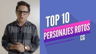 "TOP 10 ""Personajes Rotos"" l Central Gaming"