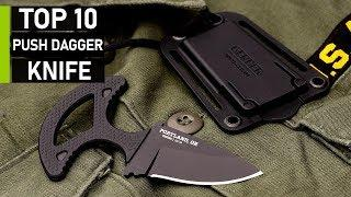 Top 10 Deadly Push Knives for Self Defense