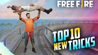 Top 10 Secret Place Free Fire || Rank Push Tips And Tricks Free Fire ||