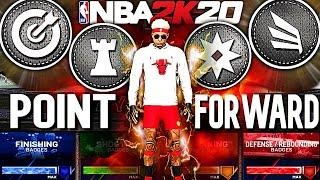 THE ULTIMATE POINT FORWARD BUILD OF THE YEAR! NEW DEMIGOD BUILD NBA 2K20 | BEST SMALL FORWARD BUILD