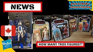 STAR WARS ACTION FIGURE NEWS ON GAMING GREATS EXCLUSIVES, DISTRIBUTION AND HOW MANY FIGURES FOR TROS