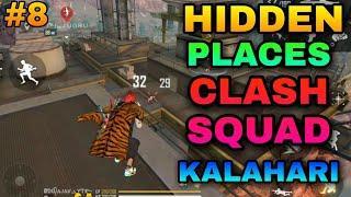 new hidden place in clash squad Kalahari #8 best place for clash squad Kalahari map | one day gaming