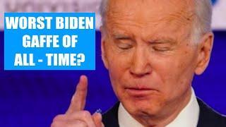 Worst Biden Gaffe of All-time? | Top Biden Gaffes of the Week