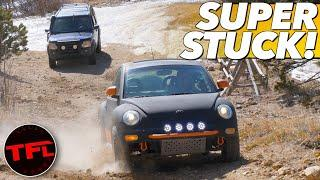 Ouch! Baja Bob Goes Head to Head Off-Road Against a Land Rover And....