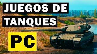 TOP 10 Mejores Juegos de TANQUES para PC Gratis 2020