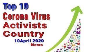 10-04-2020 Corona Virus Update News on Top 10 Country