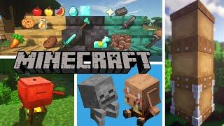 Top 10 Minecraft Mods Of The Week | Netherite Plus, Crock Pot, Dad's Sewing, Krate and More!