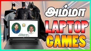 Top 5 batman games in Government Laptop Games | Amma Laptop Games | #VARUNYT