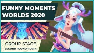 Funny Moments - Worlds 2020: Group Stage | Second Round Robin
