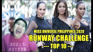 Miss Universe Philippines 2020 | Runway Challenge (Top 10)