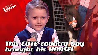 Shaney-Lee sings 'Take Me Home, Country Roads' by John Denver   The Voice Stage #21