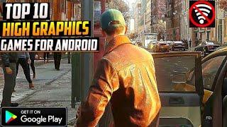 Top 10 New High Graphics Games For Android 2021 | New Android Games (Online/Offline)