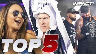 Top 5 Must-See Moments: Final IMPACT Before Turning Point!   IMPACT! Highlights Nov 10, 2020