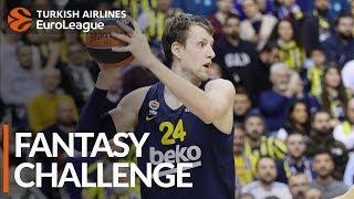 Turkish Airlines EuroLeague Regular Season Round 23: Fantasy Challenge