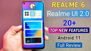 Realme 6 Realme UI 2.0 Android 11 Update Full Review | Top 20+ New Features of Realme ui 2.0