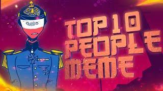 TOP 10 [PEOPLE] MEME ANIMATION