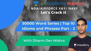 50000 Word Series   Top 10 Idioms and Phrases Part - 2   English by Dharm Dev Mishra