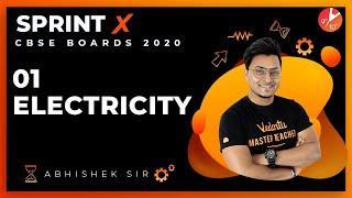 Electricity Class 10 Sprint X 2020 | CBSE Physics | Science Chapter 12 | NCERT @Vedantu Class 9 & 10