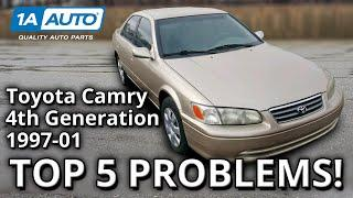 Top 5 Problems Toyota Camry Sedan 4th Generation 1997-2001