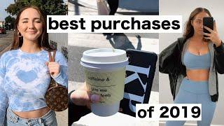 BEST PURCHASES OF 2019 | things worth buying