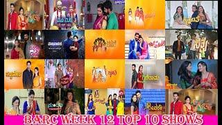 kannada TV shows Trp week 12 2021 Top 10 shows