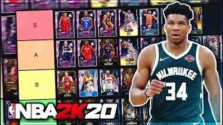 RANKING THE BEST POWER FORWARDS IN NBA 2K20 MyTEAM!! (Tier List)