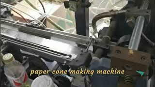 Water paper cone making machine/ water paper cone top knurling machine