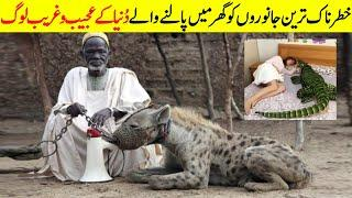 Top 10 Scariest Dangerous Animals People Actually Keeps Urdu/Hindi | Most Unusual Pets In The world