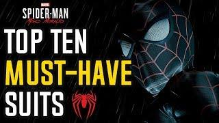 Top 10 MUST-HAVE Alternate Suits for Spider-Man: Miles Morales (Spider-Man PS5)