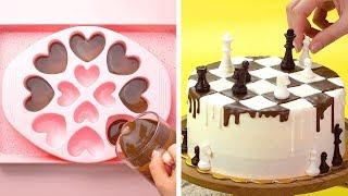 12 Quick and Easy Chocolate Cake Decorating Tutorials At Home | So Yummy Cake Recipes | Tasty Cake