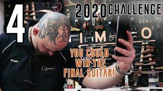 4) Inlay This! - I Build a UNIQUE Crowd Designed Hollow Multi-Scale Guitar in 20 hours! -