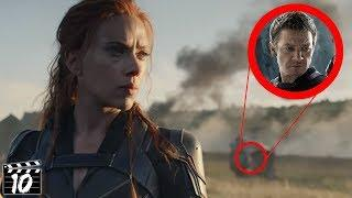 Top 10 Black Widow Trailer Small Details You Missed